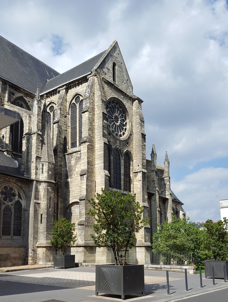 Église Saint Julien à Tours
